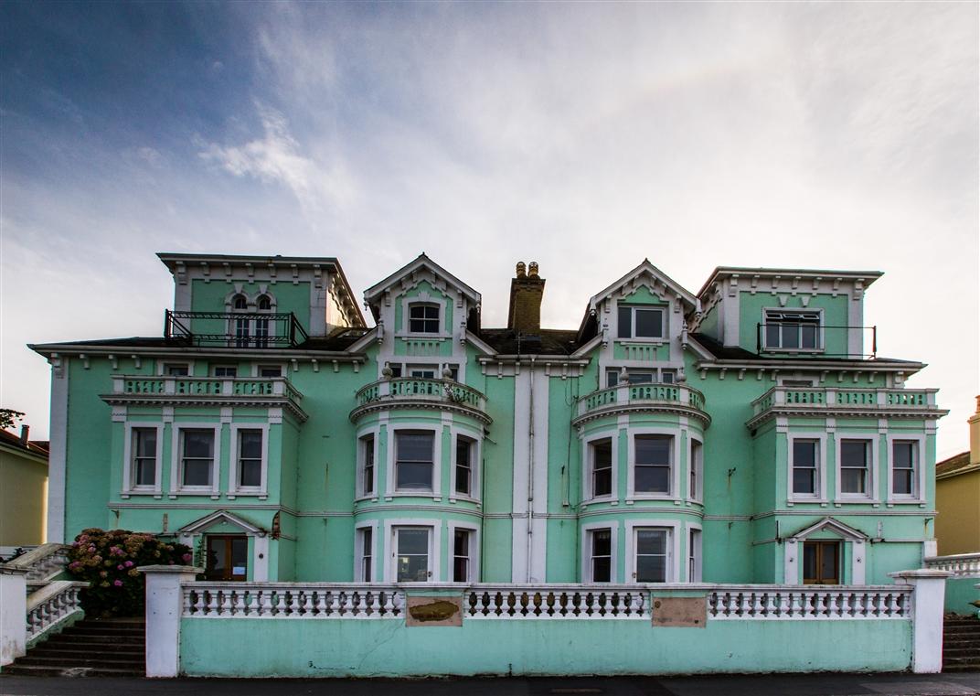 Alte Villa auf der Isle of Wight