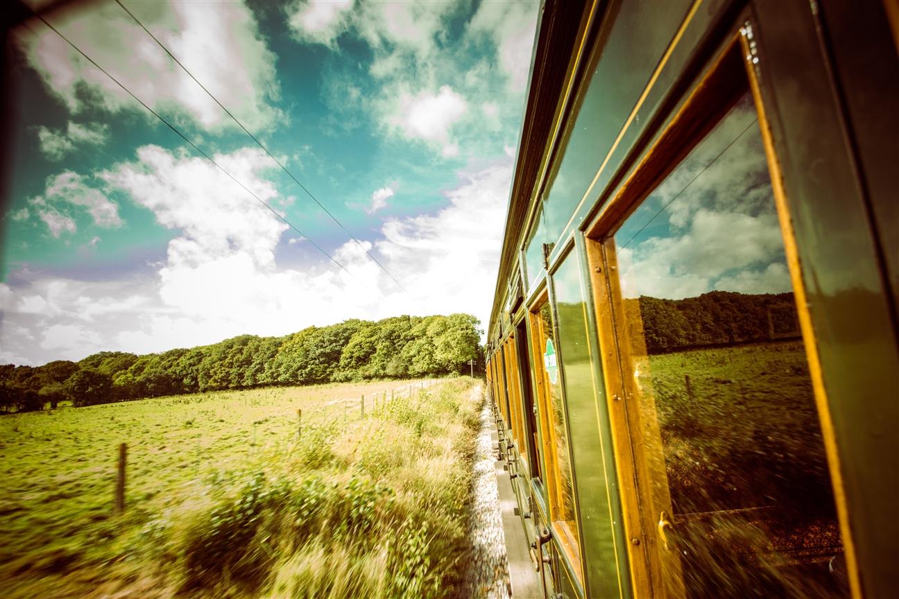 Eisenbahn auf der Isle of Wight