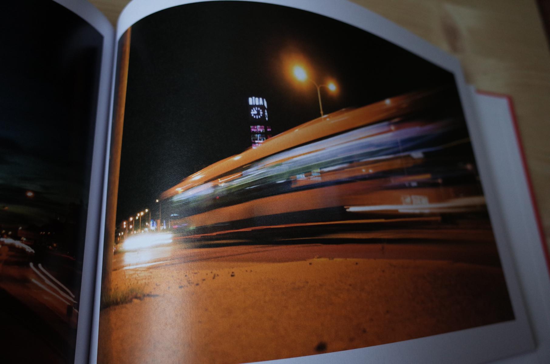 Nachaufnahme im Fotobuch über Riga