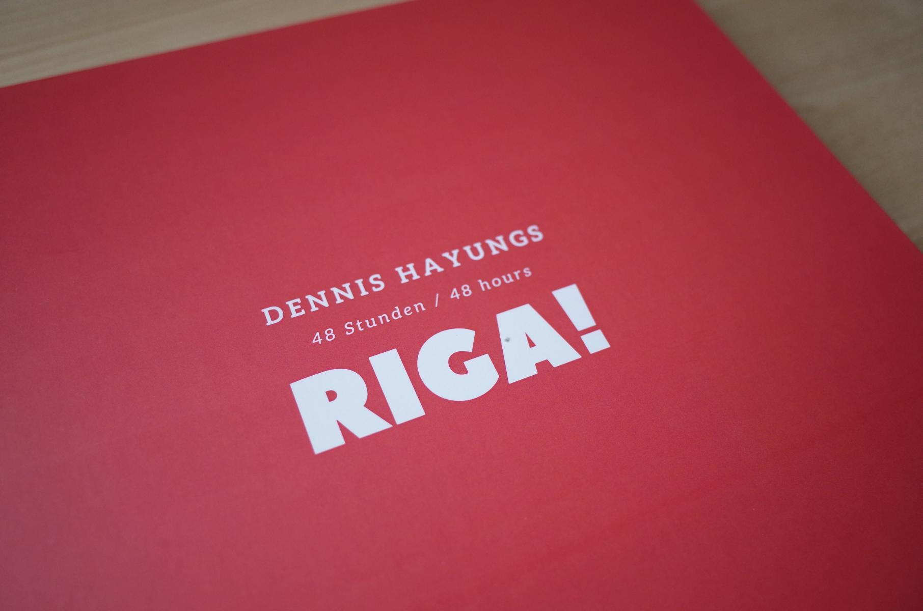 Buchcover des Riga-Bildbands