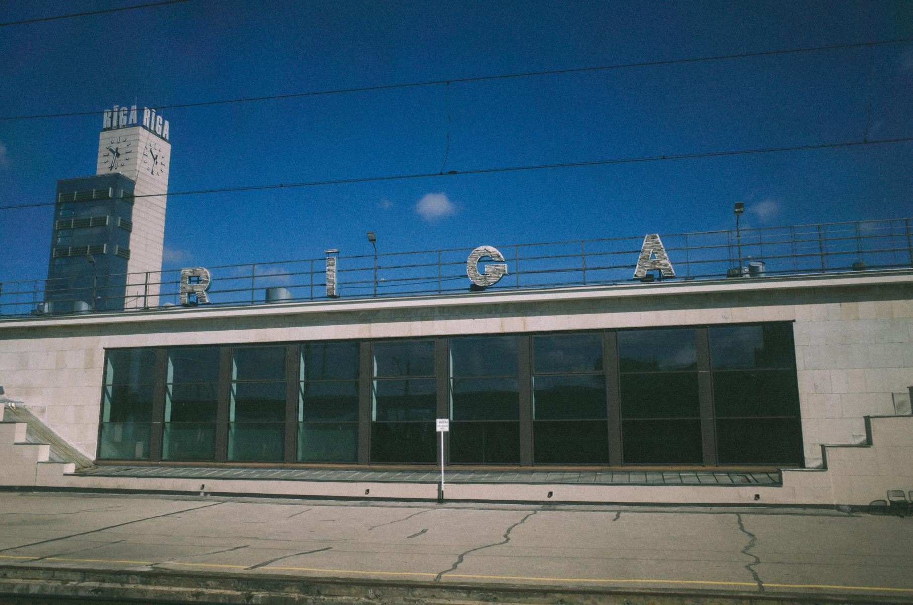 Hauptbahnhof von Riga