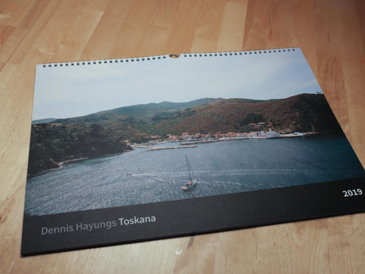 Toskana Kalender 2019
